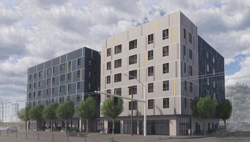 COURTESY HBP - 5020 Condos, an affordable housing project being developed at 5020 N. Interstate Ave.