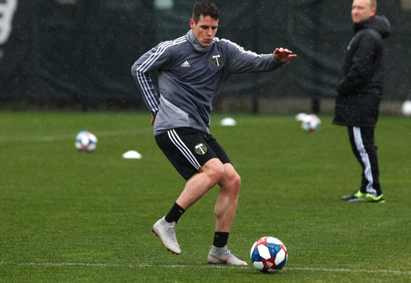 PMF FILE PHOTO: JONATHAN HOUSE - Foster Langsdorf is off to a productive start for Portland Timbers 2.