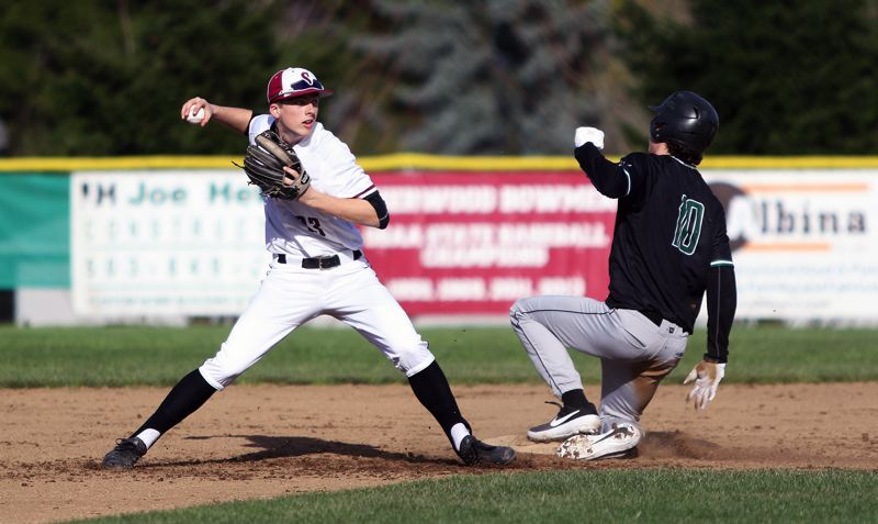 PMG FILE PHOTO: DAN BROOD - Senior Tyler Hix (left) should be a key player for the Sherwood High School baseball team in the infield this season.