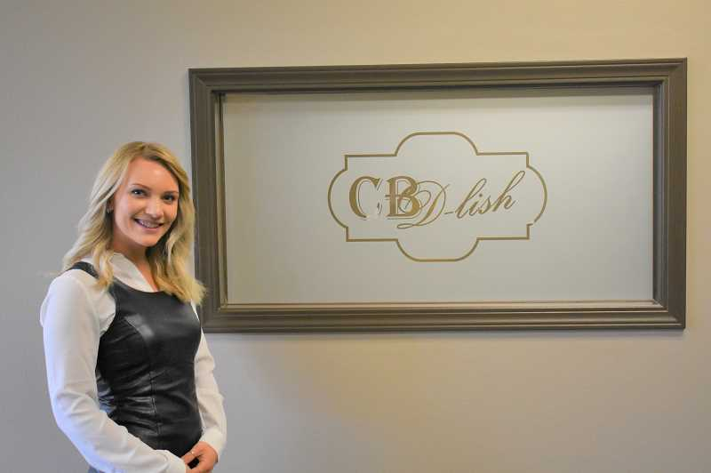 PMG PHOTO: EMILY LINDSTRAND - Becki Raines of CBDlish is eager to bring the store to Estacada. The business will open at 307 S.W. Highway 224 next week.