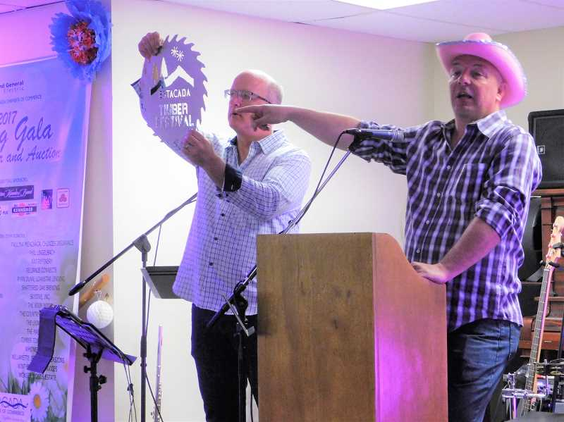 PMG FILE PHOTO - The Chamber of Commerces annual Spring Gala is scheduled for Saturday, April 27. Auctioneers will present a variety of items for bidding.