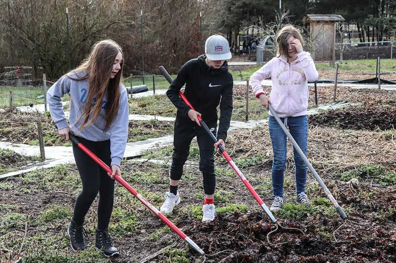COURTESY PHOTO - There are plenty of opportunities at CREST to learn about life cycles, agriculture, composting, food sources and more.