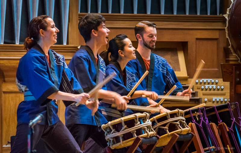 COURTESY PHOTO: PORTLAND TAIKO - Portland Taiko is celebrating its 25th anniversary as a performance group in the Pacific Northwest.