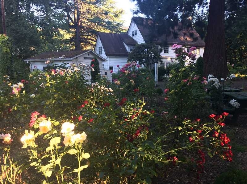 PMG FILE PHOTO - The grounds of the historic McLean House gardens is a perfect setting for an event featuring art and garden decor and supplies.