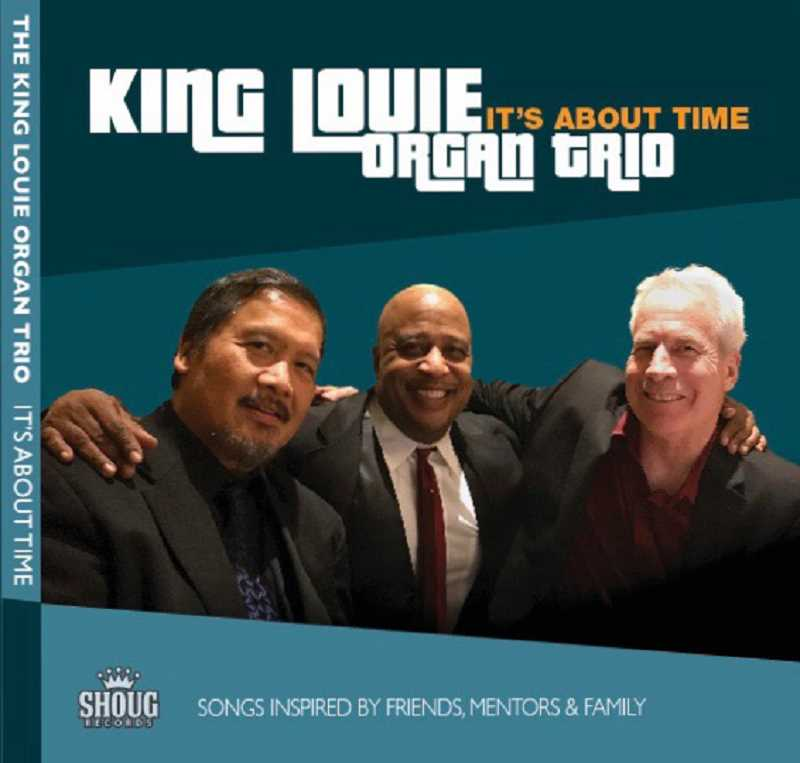 SUBMITTED PHOTOS  - The King Louie Organ Trio will present a CD Release concert for their debut album Its About Time April 8 at Lake Theater and Cafe.