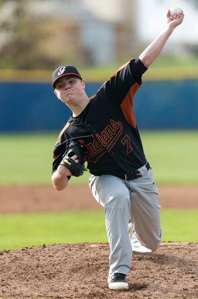 PMG FILE PHOTO: CHRISTOPHER OERTELL - The pitching of Breeler Mann and others has been effective and kept Scappoose in games during preseason play.