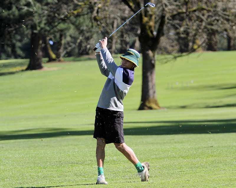 PMG FILE PHOTO: MILES VANCE - With Jermain Jordan (pictured) gone, Wilsonville boys golfers will step up in the seasons play.