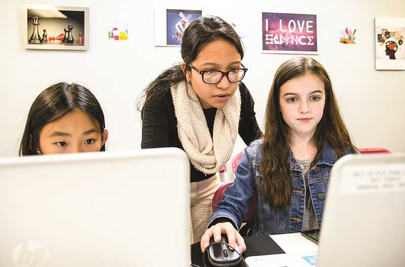 PHOTO COURTESY OF GIRLS WHO CODE  - The Crook County Library and The Landing have partnered to offer Girls Who Code, a 10-week computer science series for teens.