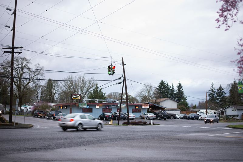 PMG PHOTO: ANNA DEL SAVIO - The intersection where the Recreation Center opened last month presents safety risks, community members say.