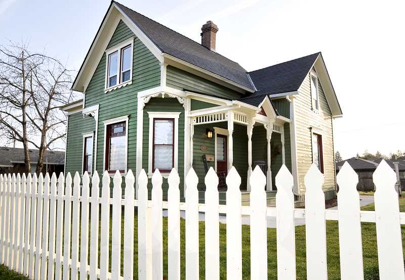 GARY ALLEN - The Victorian Secret is a historic home now serving as a rental spot for vacationers and tourists in Newberg.