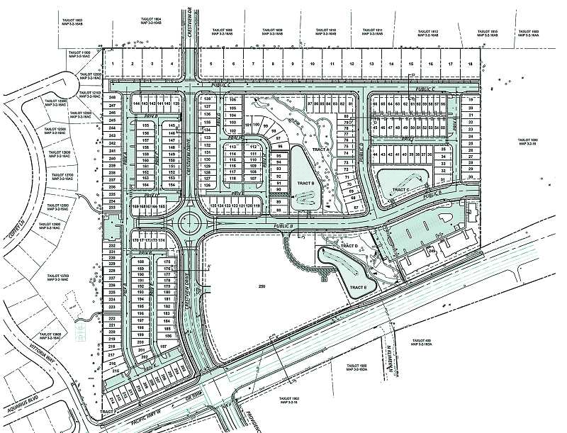 RENDERING COURTESY OF CITY OF NEWBERG - Once completed theextension of Crestview Drive to Highway 99W will make way for development of a large residential andcommercial area called Crestview Crossing.