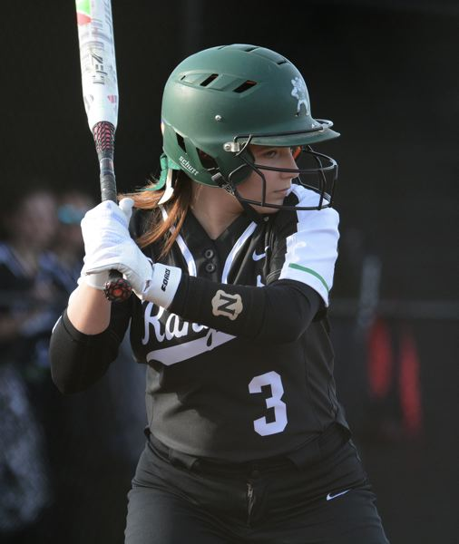 PMG PHOTO: DAVID BALL - Estacada junior Ashley Runells came up with the winning double to lift the Rangers to a 19-17 win over Sisters last week.