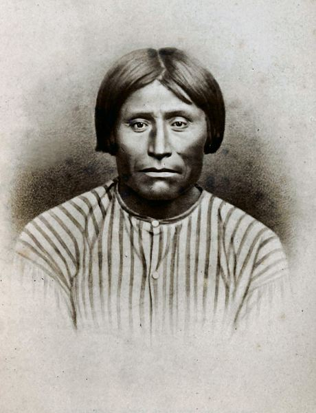 COURTESY PHOTO: KLAMATH COUNTY MUSEUM - Modoc Tribe leader Capt. Jack was among those executed for his role in a war at the Oregon-California border.