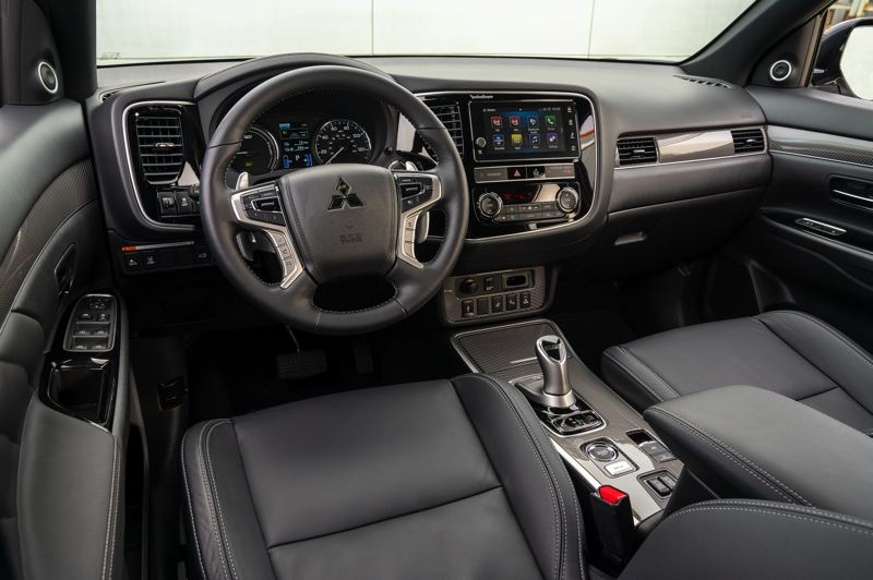 COURTESY MITSUBISHI - All versions of the 2019 Outlander can be outfitted with premium touches and advanced technologies.