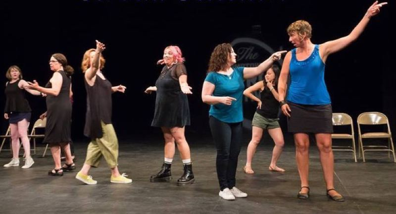Broad Selection is an improv group was originally formed by the women of the Brody Theater ensemble in 2003.