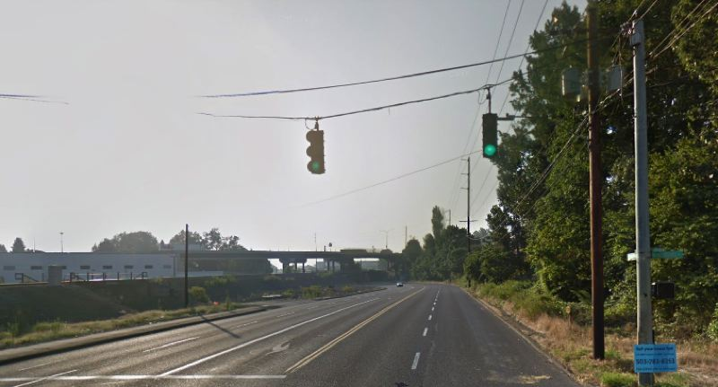 VIA GOOGLE MAPS - North Columbia Boulevard at Interstate Place in Portland is shown here.