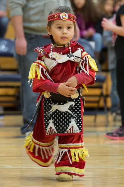 PMG FILE PHOTO - Students from across the Hillsboro School District participate in the yearly powwow each spring. The event is hosted by the districts Indian Education Program.