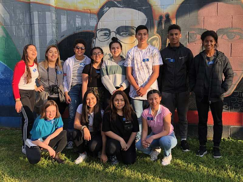 COURTESY PHOTO - A dozen Washington County students are traveling across the South this week as part of the annual Sojourn Project.