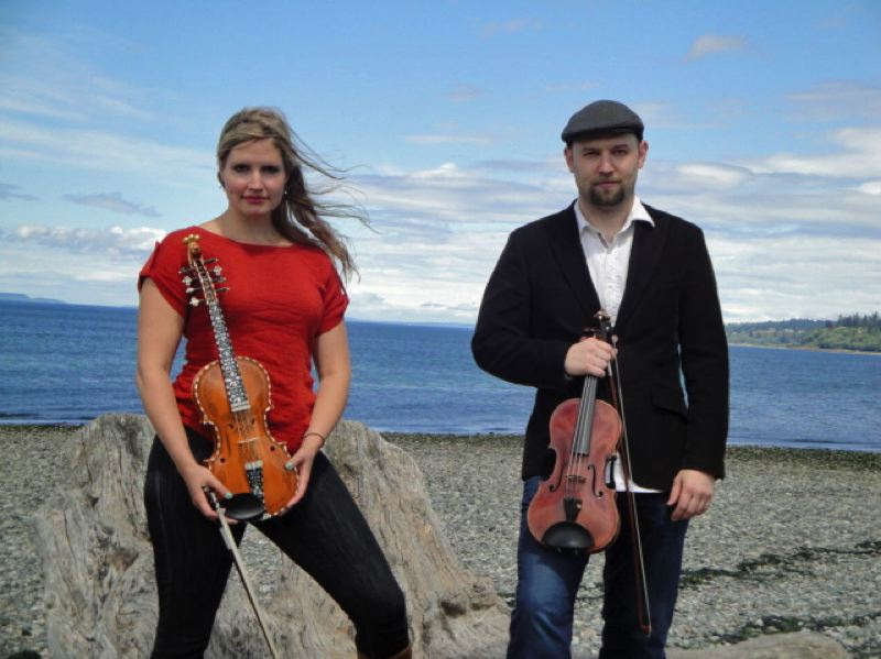 COURTESY PHOTO: NORDIA HOUSE - International fiddle music is planned for Nordia House, featuring Rachel Nesvib and Brandon Vance.