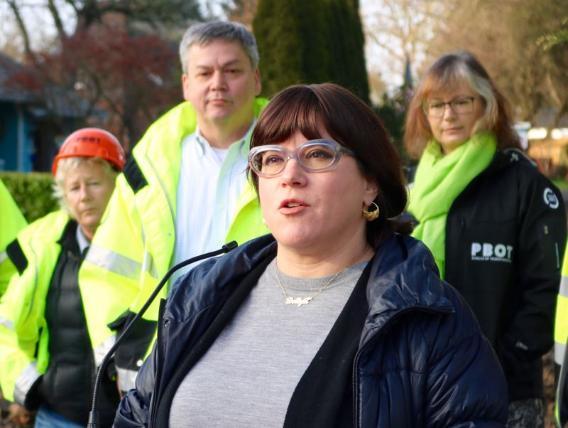 PMG FILE PHOTO - Portland Commissioner Chloe Eudaly says ODOT must compelte a full Environmental Impact Study of Interstate 5 Rose Quarter project.