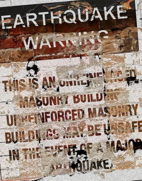 PMG GRAPHIC - Controversy continues to surround the earthquake warning requirements for unreinforced masonry buildings.