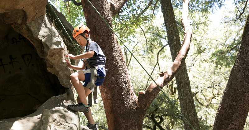 COURTESY PHOTO  - Your children can safely learn to rock climb, paddle board, mountain bike and much more this summer through Avid 4 Adventure summer camps.