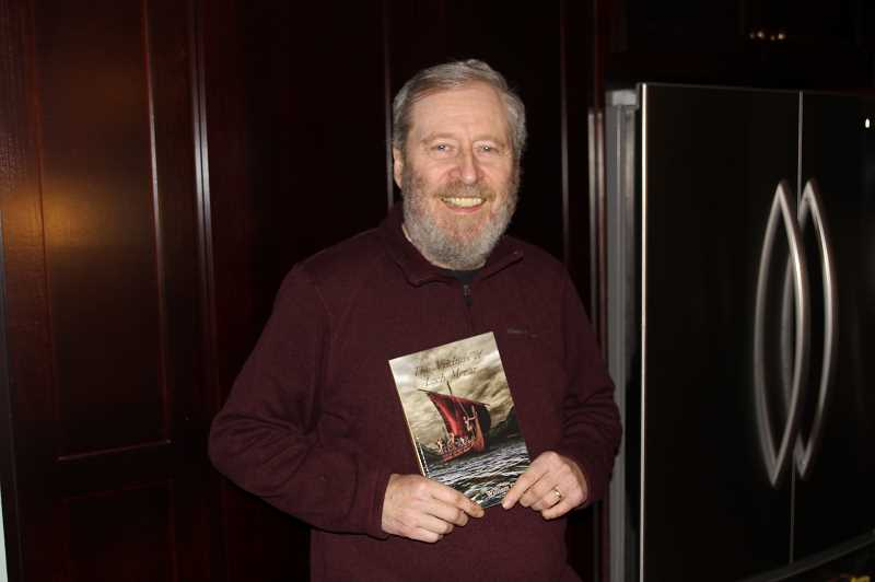 PMG PHOTO: JUSTIN MUCH - Hubbard author William D. Burt, recently published the second novel of his current science fiction series with a Christian theme (ninth overall), The Vikings of Loch Morar.