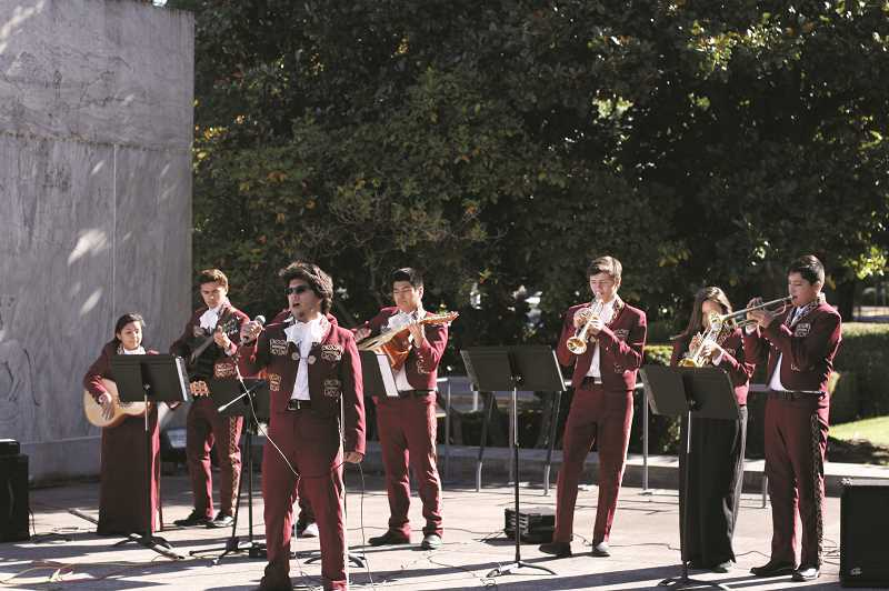 WOODBURN INDEPENDENT FILE PHOTO - Woodburn High School formed Oregons first high-school Mariachi band back in 2003.
