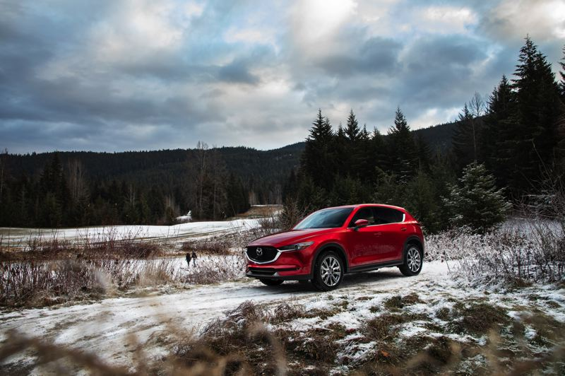 MAZDA NORTH AMERICA - With available all-wheel-drive, the 2019 Mazda CX-5 is at home in both the city and country, and the optional turbocharged engine gives it more power than ever before.
