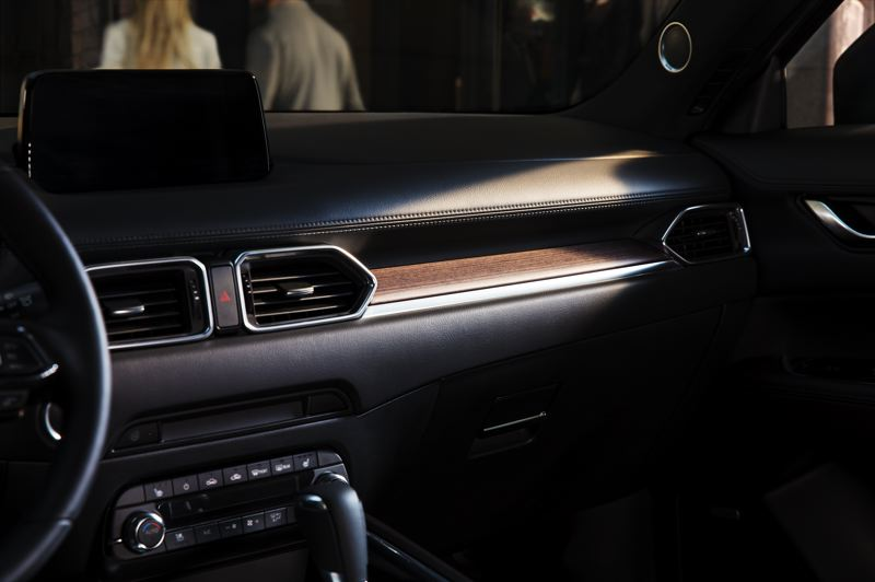 MAZDA NORTH AMERICA - Even more real wood highlights the interior of the new Signature model.