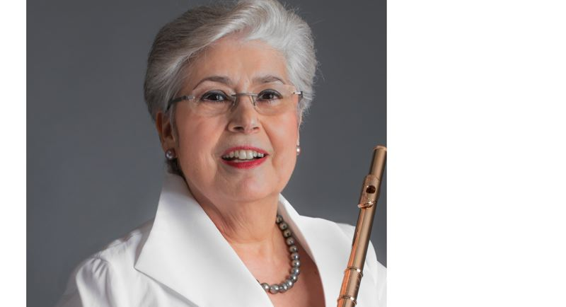 COURTESY PHOTO - Renowned flutist Trudy Kane will appear at April 13 Flute Fair at Clackamas Community College in Oregon City.