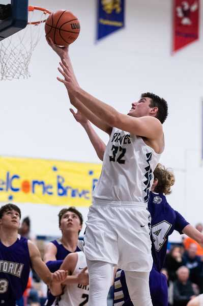 PMG PHOTO: CHRISTOPHER OERTELL - Banks' Blake Gobel during a game this past season. Gobel was selected as a Oregon 4A All-State First Team honoree.