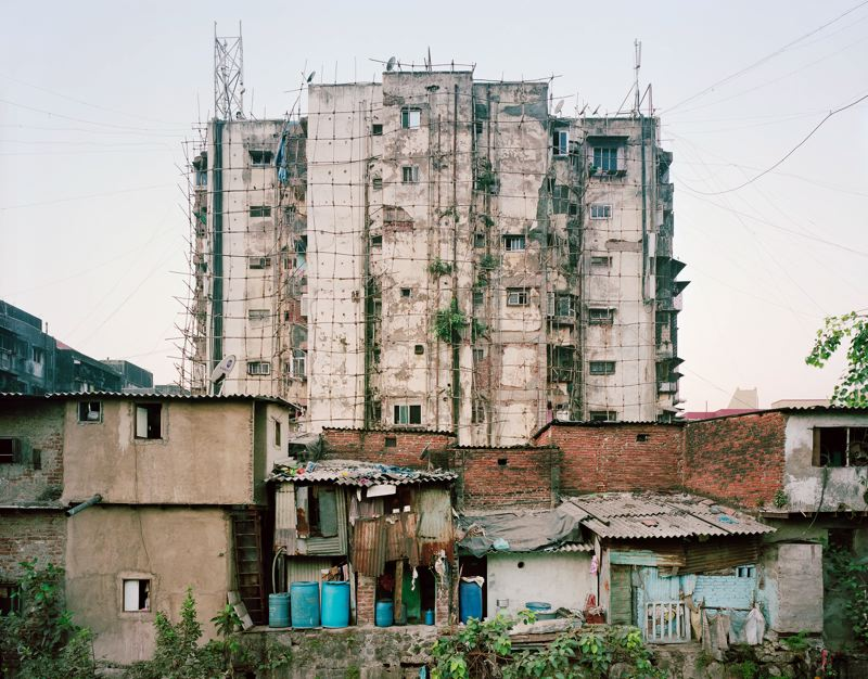COURTESY PHOTO - The Noah Addis exhibit at Blue Sky Gallery looks at slums around the world.