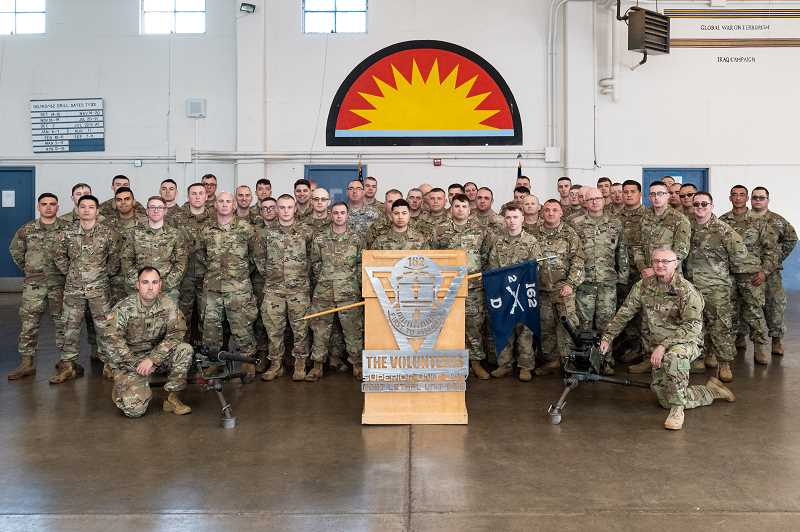 PMG PHOTO: CHRISTOPHER OERTELL - National Guardsmen currently stationed in Hillsboro will be moved to a Clackamas readiness center until a new armory post can be built in 2024.
