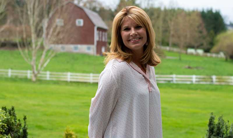 PMG PHOTO: CLARA HOWELL - If elected, Christy Thompson hopes to bring her experience as an educator and parent volunteer to the WL-WV School Board.