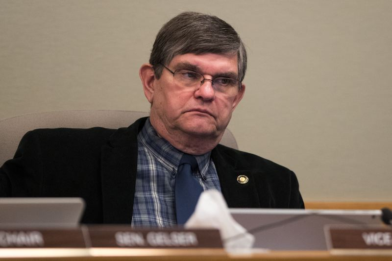 PMG FILE PHOTO - State Sen. Alan Olsen of Canby voted against the popular vote idea.