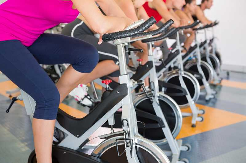 COURTESY PHOTOO  - There is no time like the present to get in shape for summer sports and fashions. Take a spin class or other fitness class through Lake Oswego Parks and Recreation.