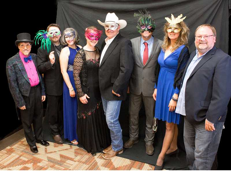PHOTO BY LISA DUBISAR - Last year's Rotary Club Cherry Tree event had a masquerade theme. This year will have a derby-related theme.