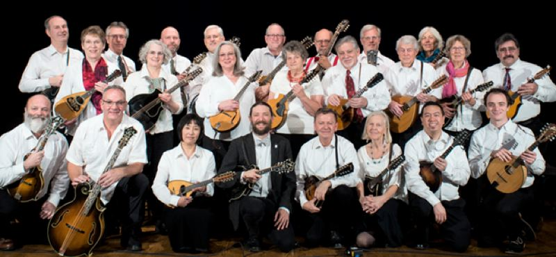 COURTESY PHOTO - Oregon Mandolin Orchestra opens its 10th season on Saturday, April 13, at The Old Church.