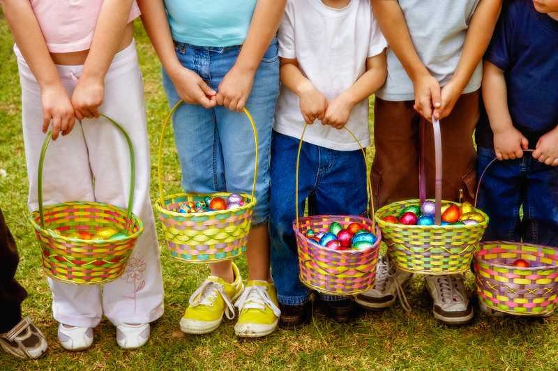 SUBMITTED ILLUSTRATION - Easter egg hunts planned aroung Jefferson County
