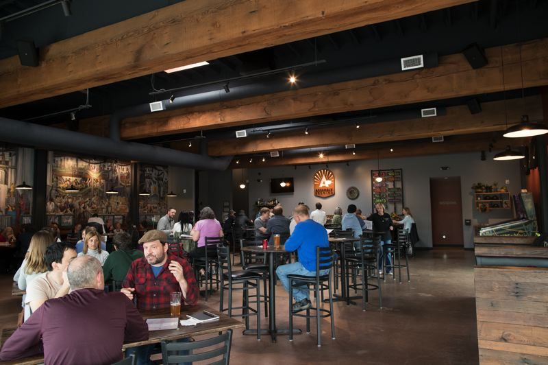 PAMPLIN MEDIA GROUP: JAIME VALDEZ - At Assembly Brewing, the quality of customer service is just as important as the quality of the beer, say founders George Johnson and Adam Dixon.