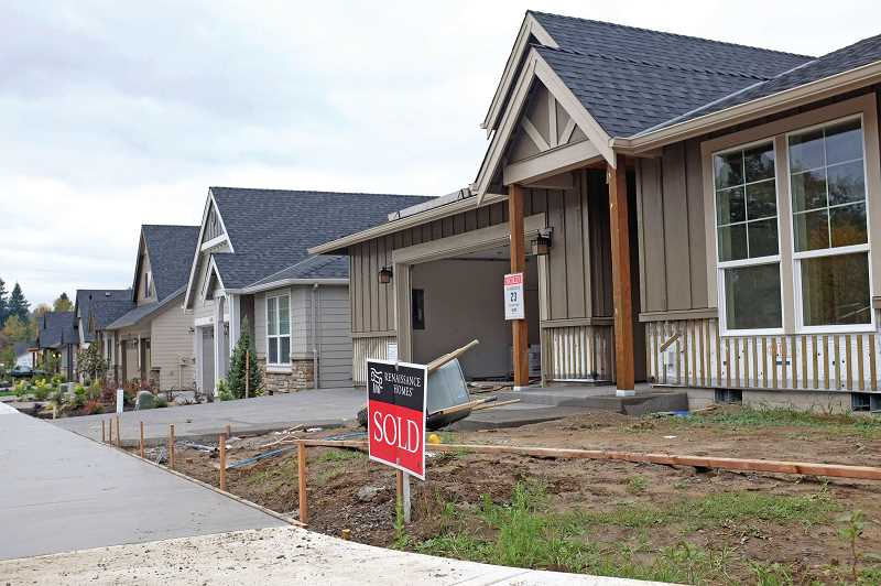 PMG FILE PHOTO - The City of Wilsonville is developing an in-depth study to assess its housing supply.