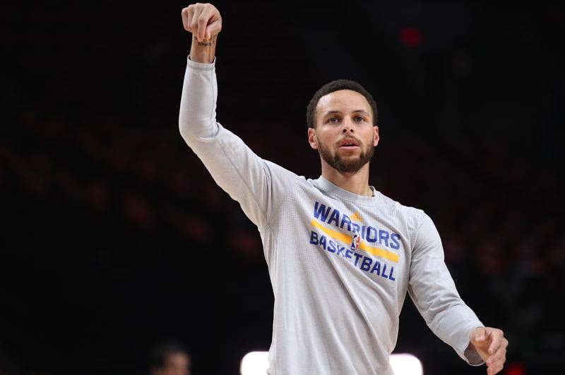 COURTESY PHOTO: DAVID BLAIR - Stephen Curry and the Golden State Warriors are going for another NBA championship.