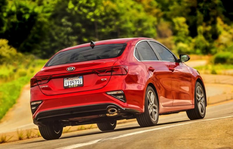 KIA MOTORS  AMERICA - Even the rear end of the 2019 Kia Forte is well designed, making it attractive from all views.