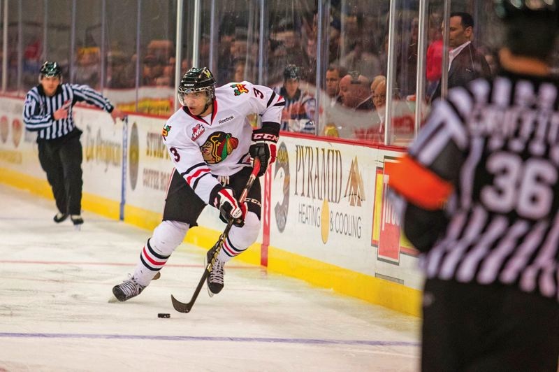 PMG FILE PHOTO - Seth Jones, who starred on defense for the Portland Winterhawks, is a key performer in the NHL playoffs with the Columbus Blue Jackets.