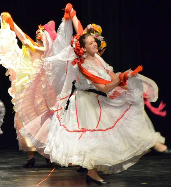 COURTESY PHOTO: BALLET FIESTA - Ballet Fiesta, based in Hillsboro, performs traditional Mexican and Spanish dances in addition to more contemporary Hispanic dances.