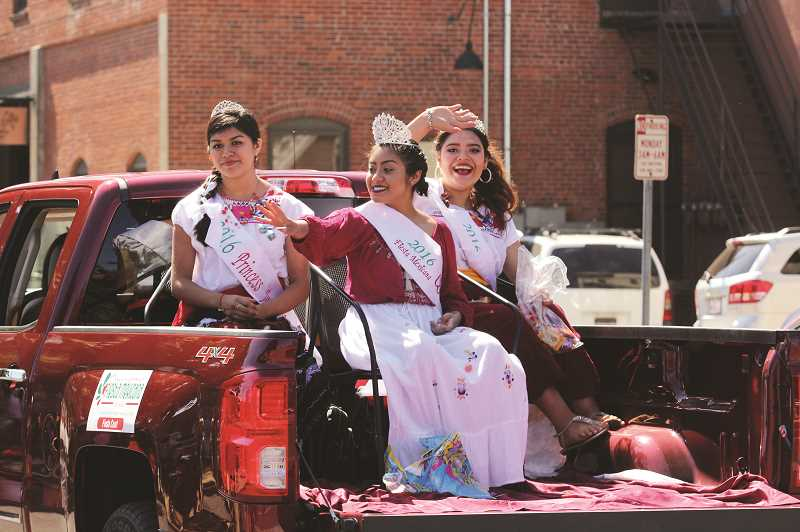 PMG FILE PHOTO - The members of the 2019 Woodburn Fiesta Mexica court will represent the event at a variety of functions, developing their leadership and communication skills as youth ambassadors to Woodburn.