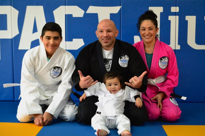 POST PHOTO: BRITTANY ALLEN - Jose Rodriguez and his wife Angelica Gonzalez opened Mt. Hood Impact Jiu Jitsu on April 1.