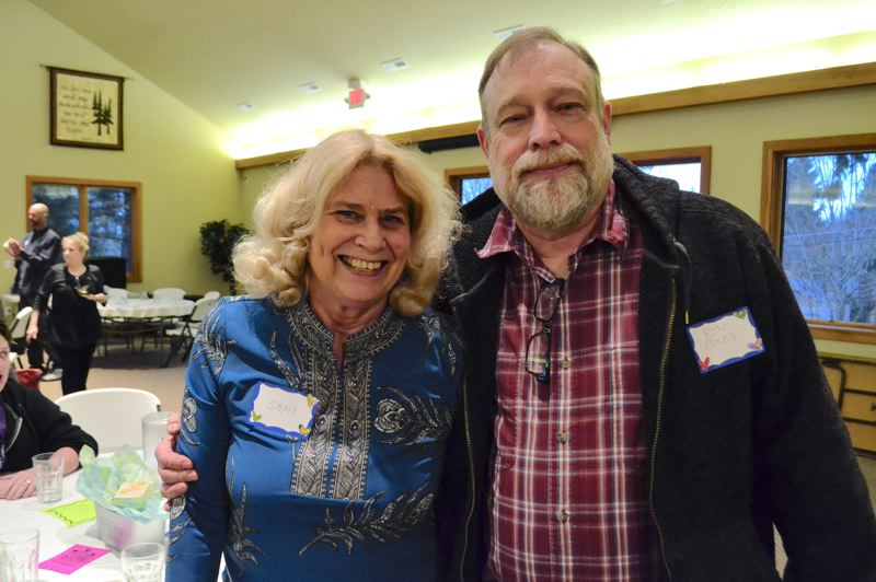 POST PHOTO: BRITTANY ALLEN - Sami Oeser and Ron Eskes have served Mt. Hood Hospice for a combined 16 years and appreciate the family atmosphere among staff and volunteers.