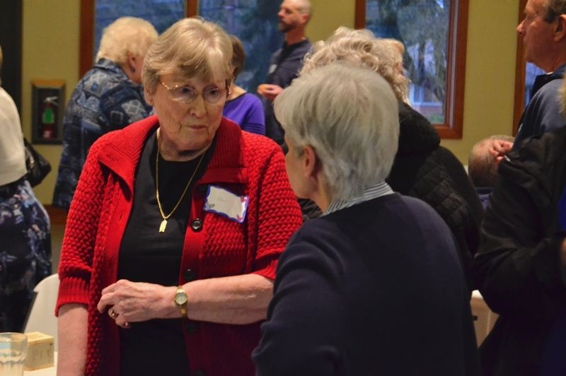 POST PHOTO: BRITTANY ALLEN - Bev Anderson has dedicated 19 years to Mt. Hood Hospice, inspired by the hospice care her brother recieved at the end of his life to volunteer.